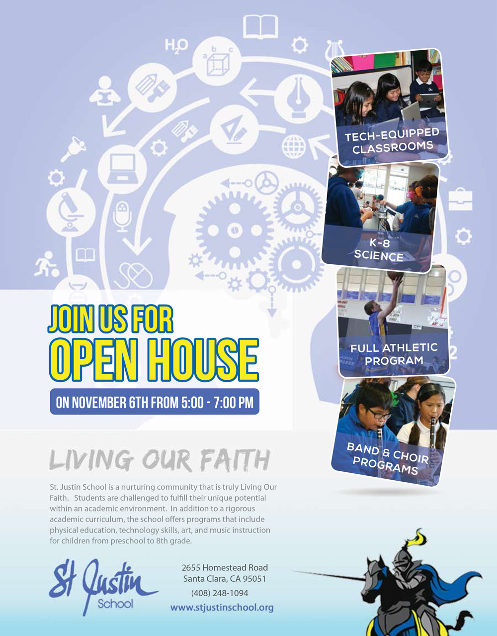 St Justin School Open House
