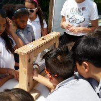 Humble Honey Bees Visit St. Justin School and Community Garden