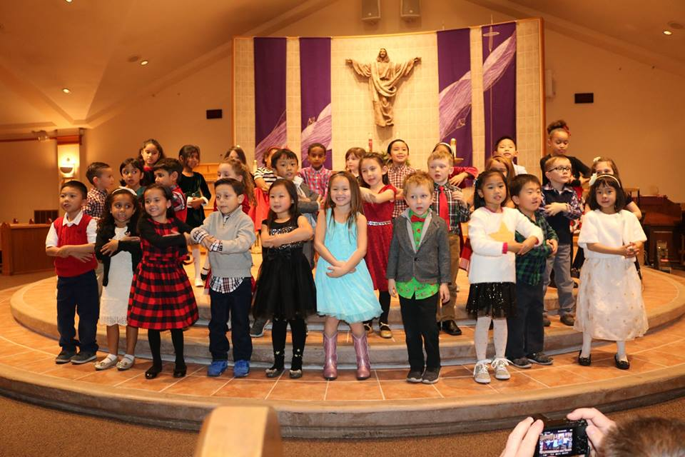 Kinder Christmas program