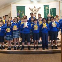 Fifth Grade Bible Ceremony